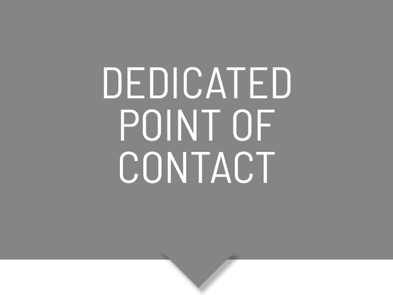 Dedicated Point Of Contact